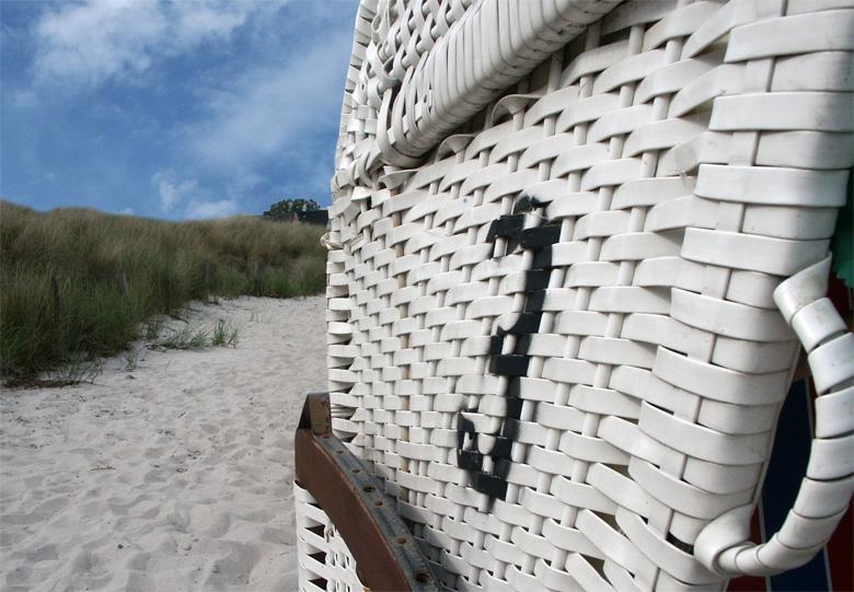 """Strandkorbvermietung """"Strand35"""" - Haffkrug / Ostsee"""
